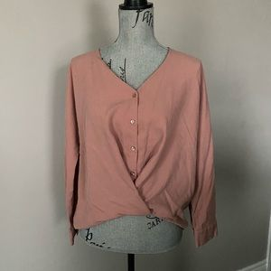 Zara trf collection blouse